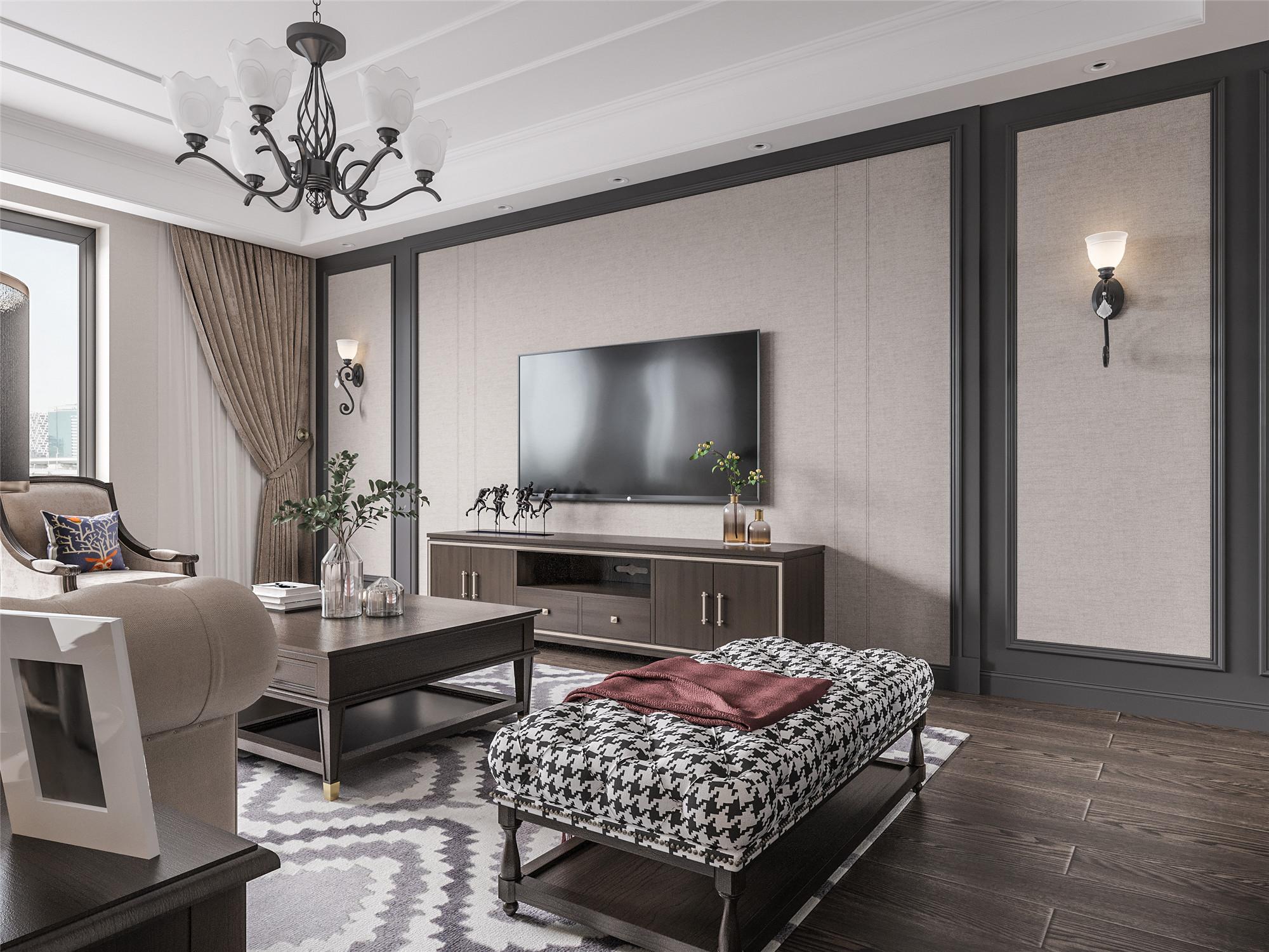 现代美式别墅设计