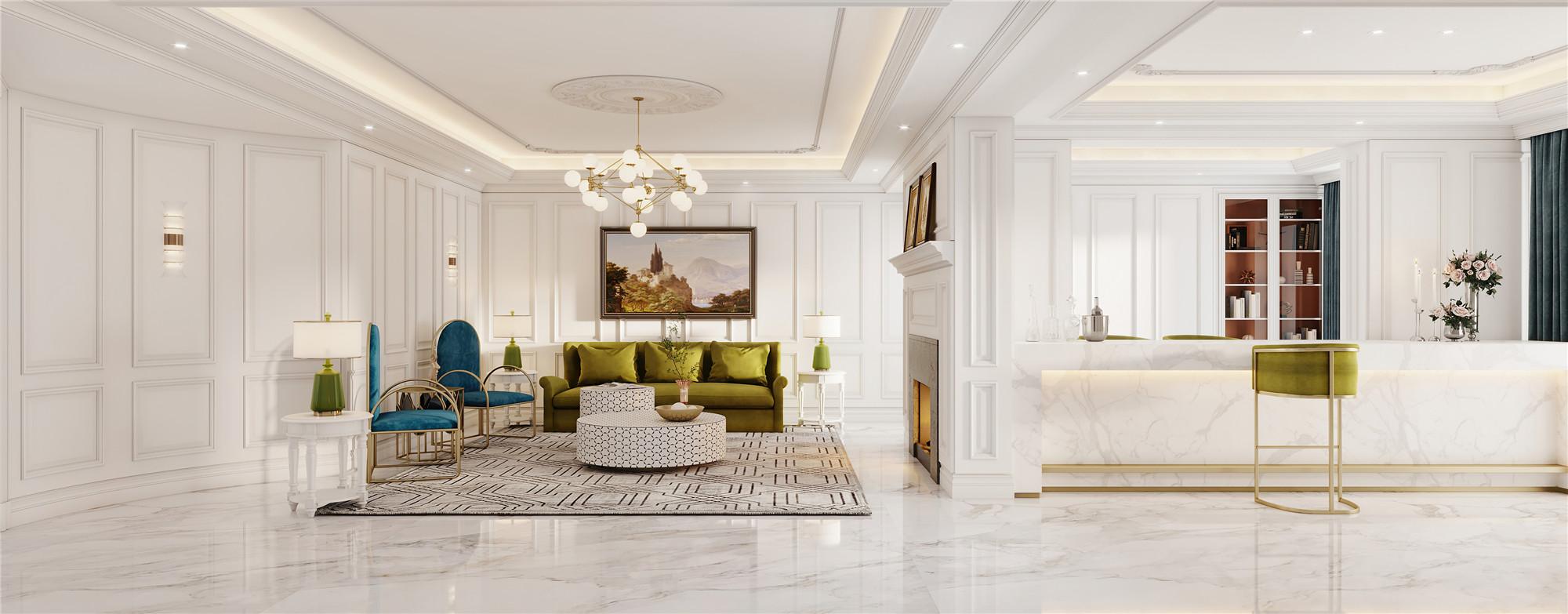 美式别墅设计
