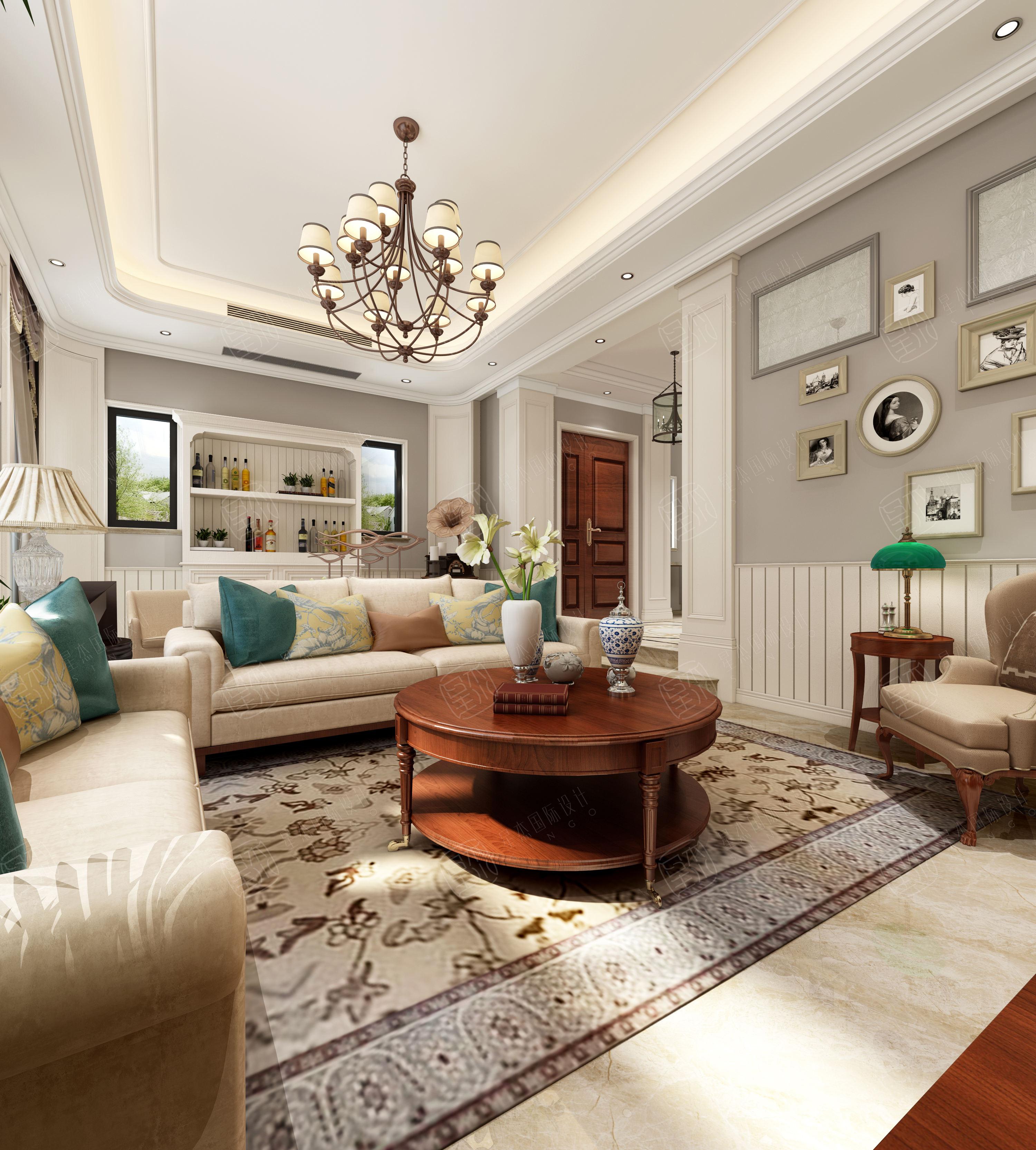 美式别墅设计案例